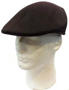 IVY Newsboy Duckbill Cabbie Golf Driving Pin Stripe Solid Cap Hat