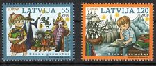 LATVIA 2010 LATVIJA EUROPA SERIES BERNU GRAMATAS CHILDREN BOOKS ART STAMPS MNH**