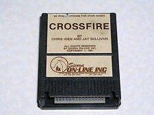 Crossfire cartridge for Atari 400/800/XL/XE computer - WORKS & GUARANTEED!