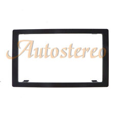Car Radio Fascia Panel Adapter Audio Frame For 2006-2012 KIA CARENS 2DIN Black
