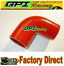 "Silicone 90 degree Elbow Hose Pipe 2"" inch 51mm turbo intercooler red radiator*"