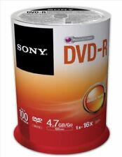 CD, DVD e Blu-Ray vergini per l'archiviazione di dati informatici 16x per 4,7GB
