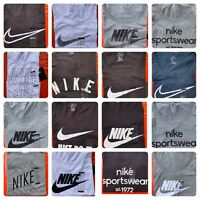 Women's  NIKE T-SHIRT S-2XL Graphic Swoosh-Just-Do-It Logo Crew Athletic Fit Tee