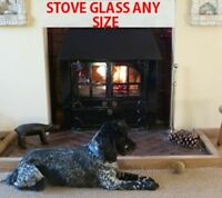 Replacement Stove Glass For Morso Stoves Heat Resistant - Various Models