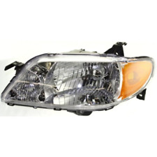 FITS 01-03 MAZDA PROTEGE SEDAN LEFT DRIVER HEADLAMP ASSEMBLY With/ALUMINUM BEZEL