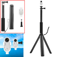 For Insta360 Go Camera Extension Adapter Base Handheld Pole Selfie Stick Tripod