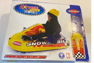 Sportsstuff Extreme Gizmo Snowmobile Snow Tube Kids Vintage New!