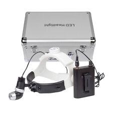 5w Dental Led Headlight Lamp Surgical Exam Light Adjustable With Aluminum Box
