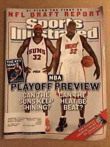 Sports Illustrated April 25, 2005 - Amare Stodemire / Shaquille O'Neal NBA