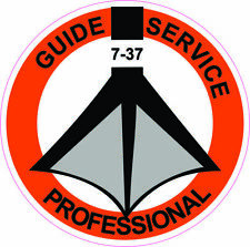 (Pack of 3) Pro Guide Service Stickers