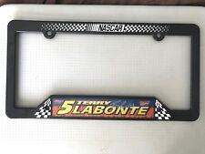 "Terry Labonte #5 Kellogg's Plastic License Plate Frame 12""x 6"" New Wincraft"
