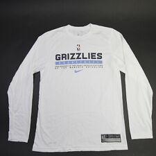 Memphis Grizzlies Nike Nike Tee Long Sleeve Shirt Men's White Used