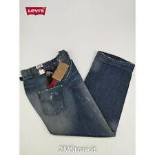LEVI'S jeans LEVIS ENGINEERED 00002 BLU EFFETTO USED LOOSEFIT COUPELARGE Vintage