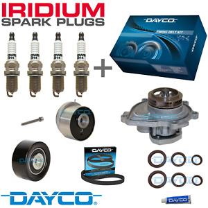 TIMING BELT KIT, WATER PUMP + IRIDIUM PLUGS - for Holden Cruze 1.8L JG (F18D4)