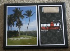 "2015 Ironman Hawaii Honu Championship Triathlon 12""X9"" Award Director Plaque"