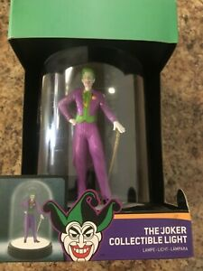 """The Joker USB Lamp-Collectible Light-Touch On/Off  8"""" Brand New-BatMan DC"""