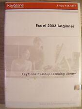 Keystone Excel 2003 Beginner Learning Library Software (Cdrom) New!