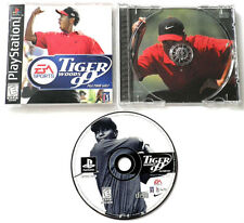 TIGER WOODS 99 PGA TOUR GOLF PLAYSTATION 1 GAME MANUAL CIB PS1 EA TESTED WORKING