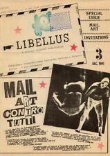(Mail art), Art postal) LIBELLUS, a Monthly mail art publication. (12 numéros)