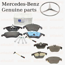 Genuine Mercedes Brake Pads & Sensors  Front+Rear  W204 C300 C350 /  E350