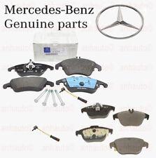 Genuine Mercedes Brake Pads & Sensors  Front+Rear  W204 C300 C350