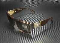 VERSACE VE4369 50283G Transparent Brown Light Brown 58 mm Men's Sunglasses