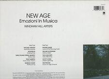NEW AGE disco LP 33 EMOZIONI IN MUSICA Michael Hedges Philippe Saisse Nightnoise