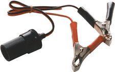 Coche 12v Portable auxiliar aux encendedor de cigarrillos con pinzas cocodrilo