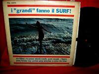 I GRANDI FANNO IL SURF LP ITALY 1965 Pop EX+ Morricone Pavone La Cricca Morandi