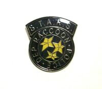 Resident Evil S.T.A.R.S. Raccoon Police Enamel Metal Pin