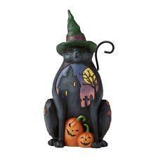 Jim Shore 6006697 Midnight Marvel - Halloween Cat Pint Sized 2020