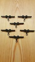 Pack of 6 Black Helicopter Rigs & 100 Free Boilie Stops (£1.00)