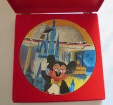 Disney World 15th Anniversary Decorative Plate LE