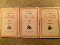 Les Contes Drolatiques in 3 Volumes - H. De BALZAC - Illustrated A. Robida