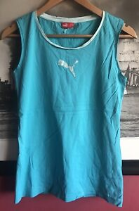Puma Sleeveless Blue Top Size M