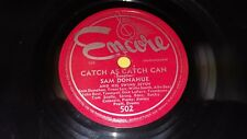 SAM DONAHUE & HIS SWING SEVEN Round The Block/ Catch As catch Can 78 Encore 502