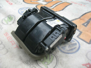 AUDI A6 A7 4G CENTER DUCT AIR INTAKE 4G0857042B WITH FLAP MOTORS ZBAT0049D04