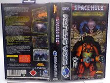 Sega Saturn juego-Space Hulk-Vengeance of the Blood... (con embalaje original) (usk18) 11090014
