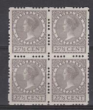 Roltanding 52 blok sheet MLH ong 1928 Nederland Netherlands syncopated NO GUM