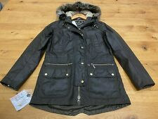 Barbour Ladies' Kelsall Luxury Wax Parka Olive - UK 10 - New/Tagged - RRP £269