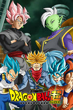 Dragon Ball Super Poster Future Trunks/Zamasu/Black Saga 12inx18in Free Shipping