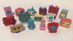 Great Mixed Seasons Lot of Shopkins Electronics Computers TV Phones Cams & More!