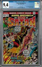 Marvel Spotlight # 12 CGC 9.4 WP Son of Satan