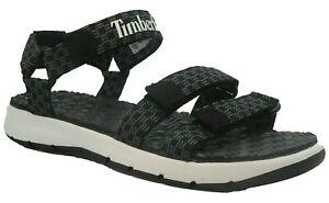 Mens Timberland Black Strap sandals Size UK 8.5 Summer Holiday EUR 43 Summer
