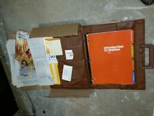 Vintage Shaklee Introduction Briefcase Package New Old Stock 1980's