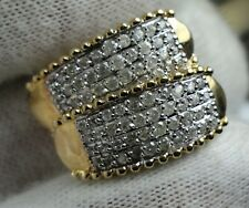 10KT Gold Clip Pin Diamond Earrings