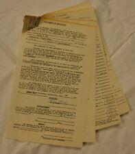 Leo Fender Signed Certificate of Deposit City of Fullerton 4-Pages 1974 JSA COA