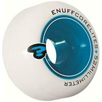 Enuff Corelite White Blue Skateboard Wheels - 52mm (Pack of 4)