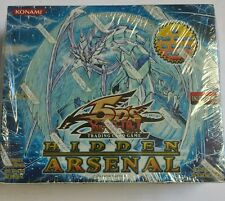 Yugioh Hidden Arsenal 1 English Booster Box 36ct. RARE Unlimited English Rare