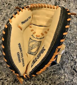 "Left Handed Catchers Mitt Youth ALL-Star Young Pro Series CM1010BT 31"" New NWOT"